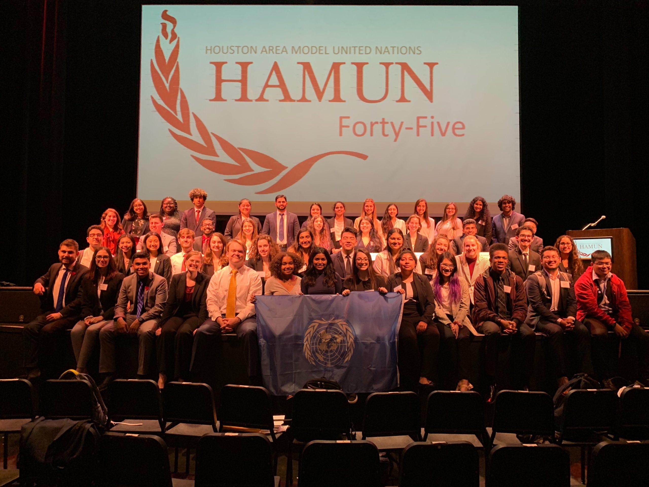 HAMUN 45 Staff